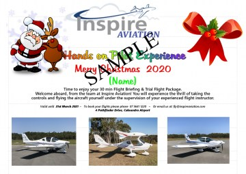 Inspire Aviation Xmas Cert SAMPLE